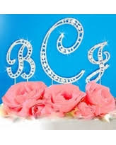 here u0027s a great price on wedding cake topper letter m initial cake