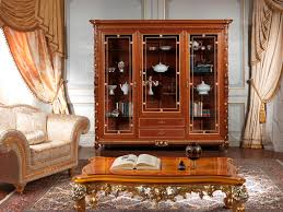 Hall Showcase Furniture Style Luigi Xvi For A Dining Room Of Classical Elegance
