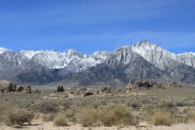 Alabama mountains images Sierra nevada mountains with alabama hills in foreground 2 jpg