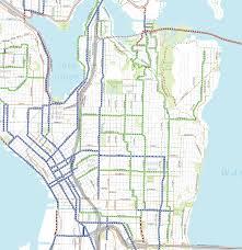 Map Of Seattle Neighborhoods by Bike Master Plan Draft 2 Central Seattle Seattle Bike Blog