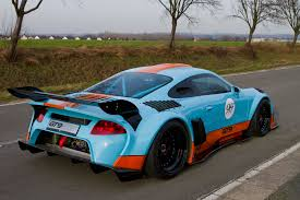 gulf porsche 911 2014 porsche 911 gt9 cs by 9ff rear photo gulf oil livery size