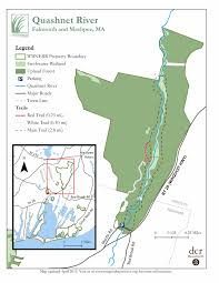 Hunting Island State Park Map by Trails