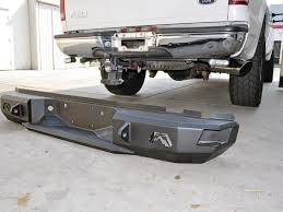 Old Ford Truck Bumpers - ford f 250 heavy duty bumpers from fab fours tech and how to