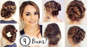 hairstyles youtube messy updo hairstyles youtube bun updos for medium length hair