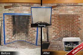 Fireplace Brick Stain by Chimney Rx Paint N Peel Fireplace Cleaner Chimney Rx