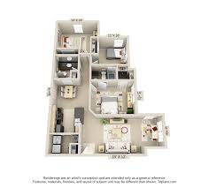 apartment 3 bedroom 3 bedroom apartments wyndham pointe apartment homes