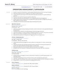 warehouse supervisor resume sample haadyaooverbayresort com