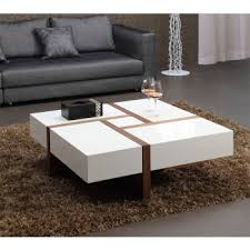 Table Designs Living Room Great Modern Square Coffee Table Walnut For Designs