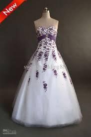 Purple Wedding Dress Cheap Wedding Dresses Discount Ball Gown Organza Wedding Dresses