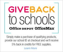 office depot tucson give back to schools program