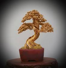 139 gold tree in a bunzan pot photograph by ricks tree