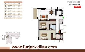 Floor 54 by Avenue Residence 1 Floor Plans