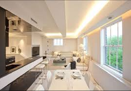 Interior Decoration Designs For Home Apartment Elegant White Theme Decoration Apartment Interior