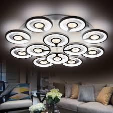 led pour chambre moderne led dimmable plafond lumières pour chambre salon