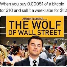Wolf Of Wallstreet Meme - bitcoin the wolf of wall street memes