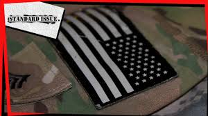 Backwards Us Flag Why Are Us Military Uniform Flags Reversed Youtube