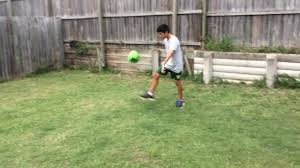 soccer in the backyard youtube