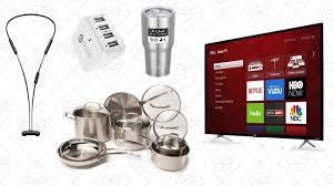 roku deals black friday tuesday u0027s top deals cuisinart cookware 4k roku tv wireless