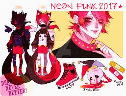neonpunk redd closed by txunnpae on deviantart