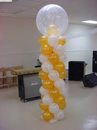 balloon columns balloon column 40 sunshines party rentals
