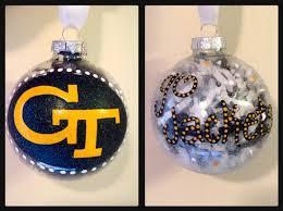 tech painted ornaments tech