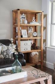ana white build a reclaimed wood rolling shelf free and easy