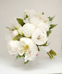 Peonies Bouquet Peony Bouquet White Ivory Cream Peony Bouquet High