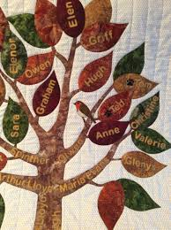 making a family tree quilt family tree quilt wall hanging custom
