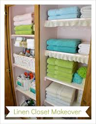 bathroom linen closet ideas project linen closet reveal pretty and organized fox hollow