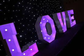 wedding backdrop hire northtonshire letter hire and letters for hire wedding dj hire
