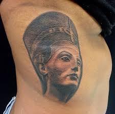 nice queen nefertiti portrait tattoo photo 1 photo pictures