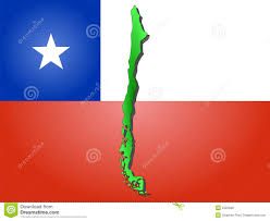 Cile Flag Map Of Chile Stock Vector Image Of Realm Chilean Chile 2322838
