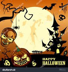 halloween frame happy halloween frame stock vector 83005252 shutterstock