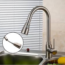 Magnetic Kitchen Faucet Kitchen Stunning Stainless Steel Pull Down Swing Spout Spray