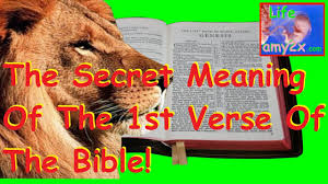 amazing hebrew meaning of 1st verse of bible revealed youtube