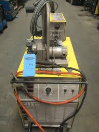 esab 452 cv mig welder 450amp with mig 35 wire feeder 230 460