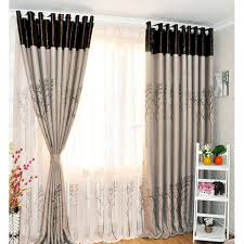 Brown Linen Curtains Tree Brown Linen Ready Made Curtains