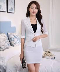 styles of work suites formal slim fashion long sleeve elegant grey uniform styles blazer