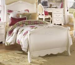 Aico Office Furniture Furniture Charming Bed In White By Aico Furniture With Floral
