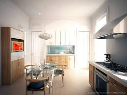 modern kitchen brooklyn architectural illustrations u0026 renderings of interiors