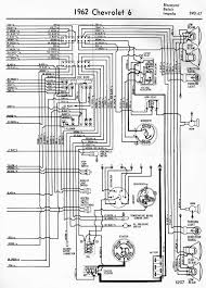 electrical wiring diagram of 1962 chevrolet 6 all about wiring