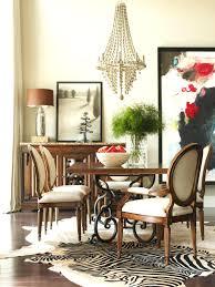 dining table room decorating zebra wood dining room table zebra