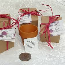 seed favors flower seed favor roses wedding