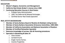 Real Estate Broker Resume Sample by Real Estate Resume With No Experience Real Estate Broker Resume