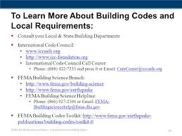 fema help desk phone number an introduction to building codes for property owners ppt download