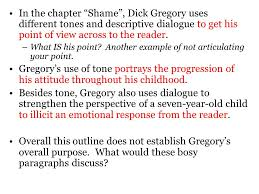 Soapstone Analysis Example Shame U201d By Gregory Ppt Video Online Download