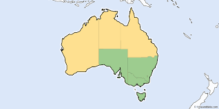 territories of australia map daylight saving time 2018 in australia