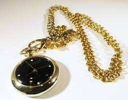 silver watch chain necklace images Vintage joan by gilded trifles on zibbet jpg