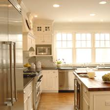 kitchen cabinets microwave shelf traditional with subway tile