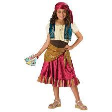 Halloween Costumes Kids Girls Buy Girls Gypsy Costume Kids Childs Gypsy Halloween Costume